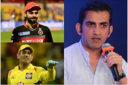 Gautam Gambhir Highlights Difference Between Ms Dhoni And Virat Kohlis Captaincy