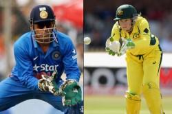 Australia S Wicketkeeper Alyssa Healy Breaks Ms Dhonis T20i Record