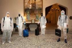 England And Australia Players To Quarantine For 36 Hours In Dubai