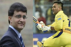 Sourav Ganguly Says Dhoni Will Need Time To Get His Touch Back