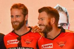 Srh Captain David Warner Reveals Why Kane Williamson Was Missing Against Rcb
