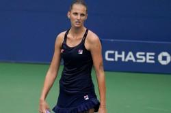 Us Open 2020 Caroline Garcia Packs Off Top Seed Karolina Pliskova