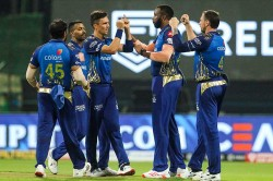 Kkrvsmi Mumbai Indians Register 1st Ipl Win In Uae
