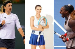For First Time In Grand Slam History Three Moms In Us Open Knockouts
