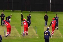 Watch Stump Hilariously Stands Upright After Bowler Uproots It In Scotlands T20 Blitz