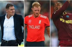 Shane Warne And Twitter Slams Marlon Samuels For Disgusting Post About Ben Stokes And His Wife