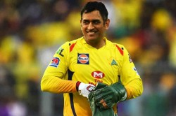 Ipl 2020 Ms Dhoni Reacts After Die Hard Fan Paints His House In Csk Colours