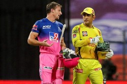 Ipl 2020 Csk Vs Rr Ms Dhoni Gives His 200th Ipl Match Jersey To Jos Buttler