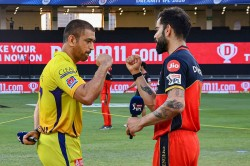 Ipl 2020 Rcb Vs Csk Royal Challengers Bangalore Wins Toss And Elects Bat First
