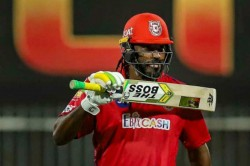 Chris Gayle Gives A Fitting Response When Being Asked Whether He Felt Nervous While Batting