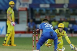 Ipl 2020 Ms Dhoni Was 100 Percent Right Fans Fire On Ruturaj Gaikwad After Duck