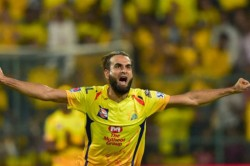 Ipl 2020 Csk Spinner Imran Tahir Says Was Painful To See Faf Du Plessis Carry Drinks