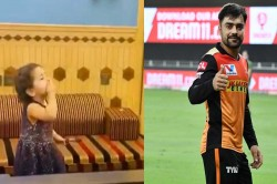 Rashid Khan Shares Adorable Video Of His Niece Cheering Him On From Afghanistan