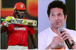 Ipl 2020 Sachin Praises Chris Gayle But Wonders Why The Jamaican Star Was Put Out For Seven Games