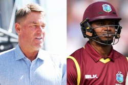 st Player To Do Face Surgery Marlon Samuels Lashes Out At Shane Warne With Ugly Remarks