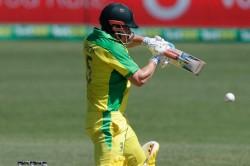India Vs Australia Aaron Finch Hits Half Century