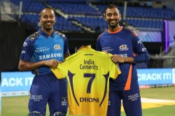 Ipl 2020 Ms Dhoni Reveals Reason Behind Players Asking For His Jersey