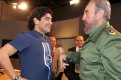 Diego Maradona And Castro Friendship What This Foot Ball Legend Recalled About Cuban Leader