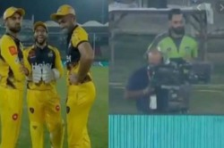 Psl 2020 Imam Ul Haq Hilariously Trolls Mohammad Hafeez During Eliminator Game