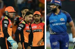 Ipl 2020 Srh Vs Mi Sunrisers Hyderabad Have Won The Toss And Have Opted To Field Rohit Sharma Bac