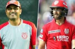 Kxip S Glenn Maxwell Responds To Virender Sehwag S 10 Crore Cheerleader Comment On Him