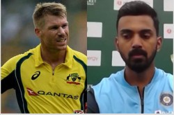 Kl Rahul Jokes About David Warners Injury It Will Be Nice If He Gets Injured For A Long Time