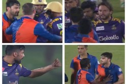 Lpl 2020 Naveen Ul Haq Gets Into A Heated Exchange With Mohammad Amir And Shahid Afridi