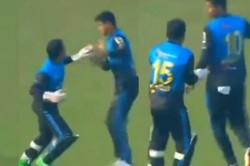 Mushfiqur Rahim Loses His Cool At Teammate Nasum Ahmed For Interfering While Catching