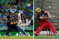 Ab De Villiers Reacts As Virat Kohli Brings Out A Rare Scoop Shot In 2nd T20i