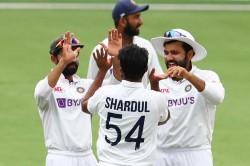 Mohammed Siraj Shardul Thakur Shine Australia Bowled Out For 294 India Target