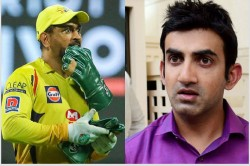 Gautam Gambhir Says This Is Ms Dhoni S Specialty He Doesnt Think Far Too Ahead