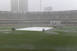 Brisbane Test Play Called Off Due To Wet Outfield India 62 2 At Stumps
