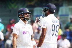 India Vs England Virat Kohli Ravichandran Ashwin Stretch Team India Lead Past