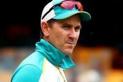 Australia Coach Justin Langer Names Player Who Carried Sandwich To Ground