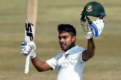 Bangladesh Vs West Indies Mehidy Hasan Miraz Hits Maiden Century In No 8 Batting Position