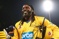 Chris Gayle Hits Fastest Fifty In T10 League And Smashes 84 Off Just 22 Balls