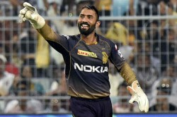 Kolkata Knight Riders Batsman Dinesh Karthik Punch On Ipl 2021 Auction