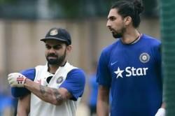 Pinkball Test Virat Kohli Recalls Ishant Sharma S Maiden India Call Up