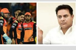 Ktr Requests Bcci To Include Hyderabad As One Of The Venues For Ipl 2021 Season