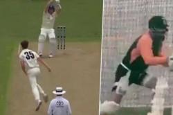 India Vs England Virat Kohli Imitates Steve Smith S Batting Style During Training