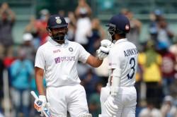 India Vs England Rohit Sharma Ajinkya Rahane 100 Plus Stand Puts Team India In Control