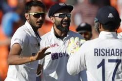 India Vs England Axar Patel Ravichandran Ashwin Help India Bowl Out England For