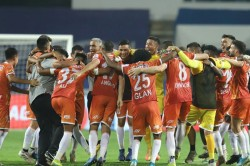 Isl 2020 21 Fc Goa Through To Semifinals Hyderabad Fc Knocked Out