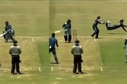 Watch Slip Fielder Shows Stunning Dives From First Slip To Take A Classy Catch At Leg Slip
