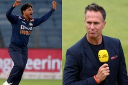 Michael Vaughan Feels Kuldeep Yadav Struggling Because Of Ms Dhoni S Absence