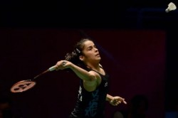 Saina Nehwal Beat Marie Batomene To Enters Orleans Masters Quarters