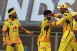 Ipl 2021 Csk Vs Rcb Ravindra Jadeja Faf Du Plessis Stars As Chennai Beat Bangalore With 69 Runs
