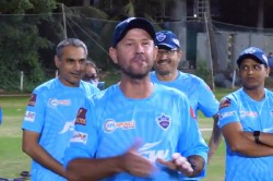 Ricky Ponting Begins Ipl 2021 Campaign With Rousing Pep Talk For Delhi Capitals Players