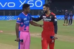 Ipl 2021 Rcb Vs Rr Royal Challengers Bangalore Opted To Bowl Shreyas Gopal Kane Richardson In
