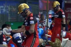 Ipl 2021 Frustrated Virat Kohli Hits Chair With His Bat After Getting Out Vs Srh
